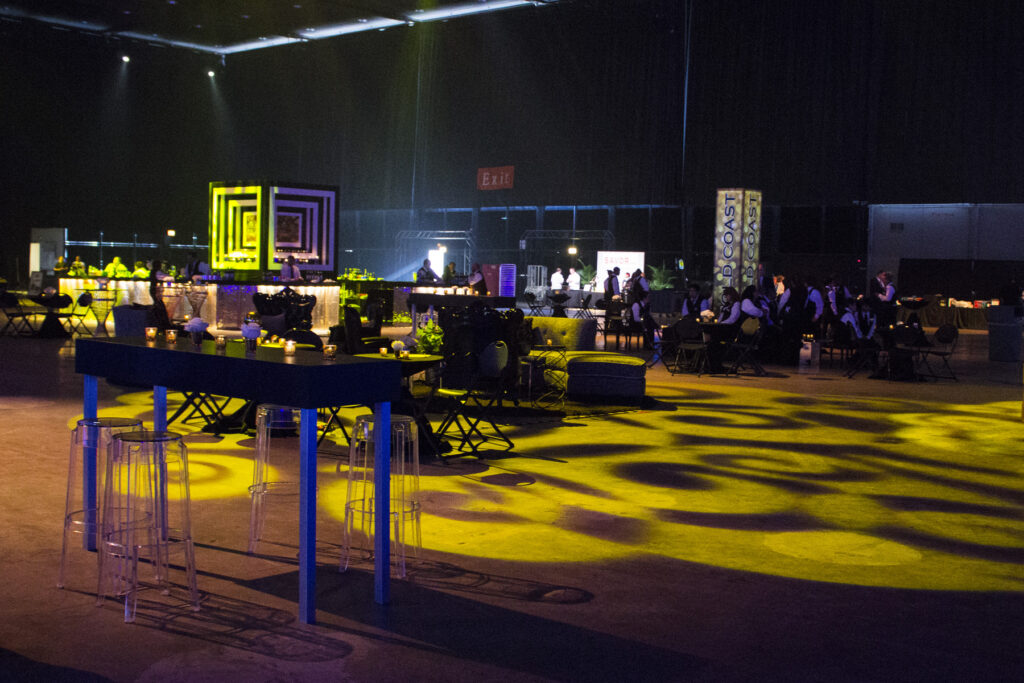 Corporate Events, Event, Chicago, Event Design, Lighting, AV, Audio Visual, Block Party Event, Themed Event
