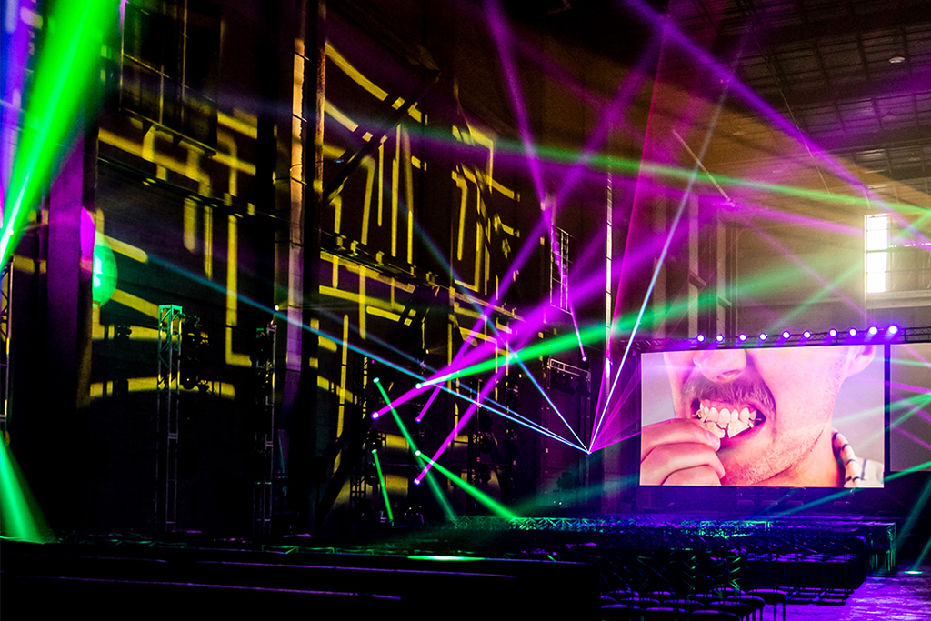 LIGHTING PRODUCTION FOR CORPORATE EVENT