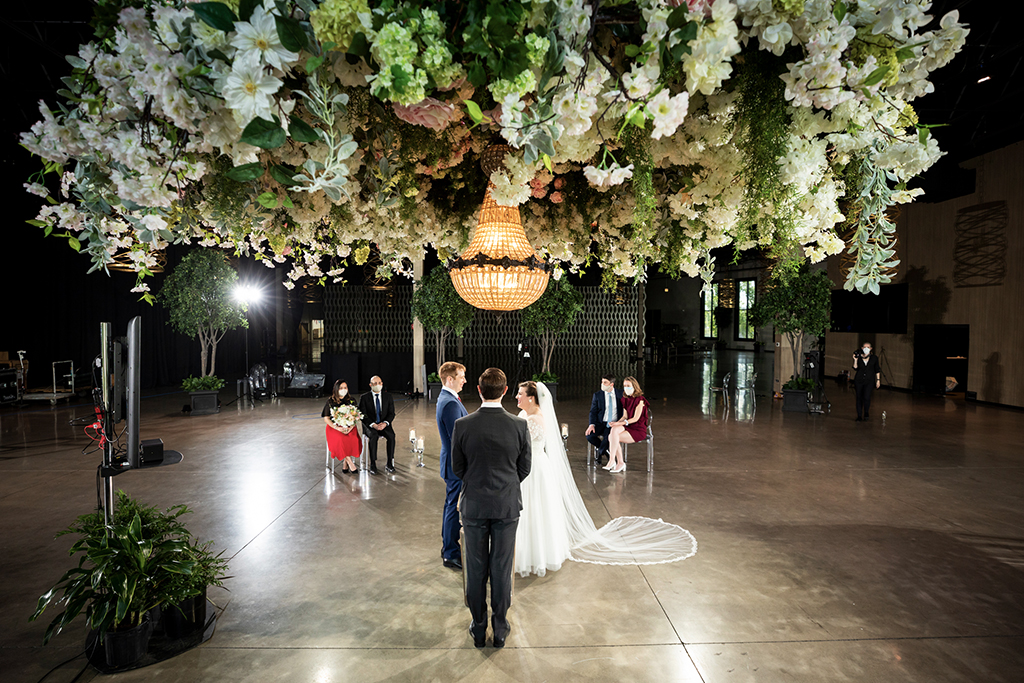 VIRTUAL WEDDING AT THE GERAGHTY IN CHICAGO
